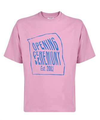 Opening Ceremony YMAA001S21JER002 WARPED LOGO REGULAR T-shirt