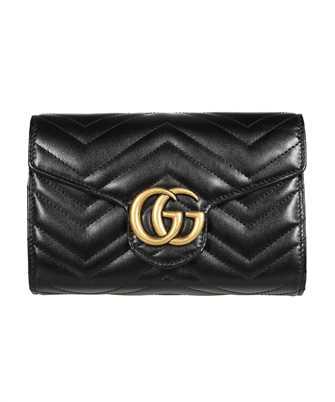 Gucci 474575 DTD1T GG MARMONT MATELASSÉ MINI Geldbörse