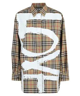 Burberry 8038128 LOVE PRINT VINTAGE CHECK COTTON OVERSIZED Shirt