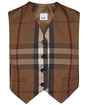 Burberry 4567073 CHECK TECHNICAL COTTON CROPPED Waistcoat
