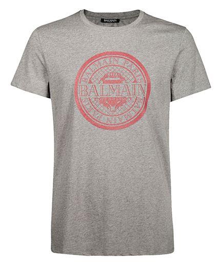 Balmain W8H8601I248 T-shirt