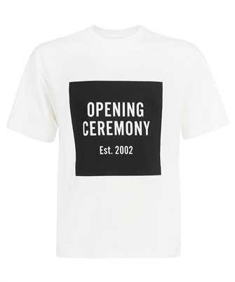 Opening Ceremony YMAA001F21JER001 BOX LOGO REGULAR T-shirt
