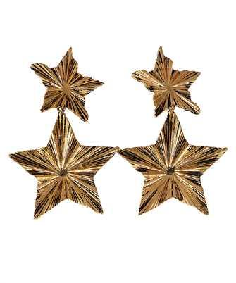 Saint Laurent 633473 Y1500 2 STARS Earrings