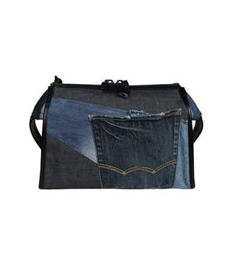 Dolce & Gabbana BM1817 AW347 PATCHWORK DENIM EDGE CROSSBODY Borsa