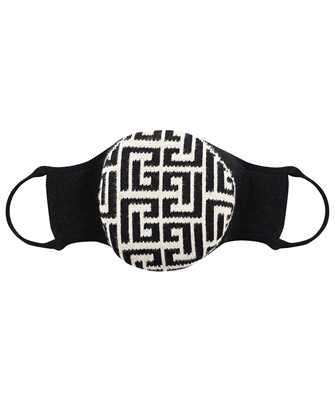 Balmain WH0XD001K265 KNIITED MONOGRAM Mask
