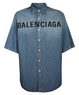 Balenciaga 600276 TYE24 FRONT LOGO Shirt