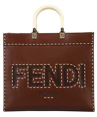 Fendi 8BH386 AFL5 LEATHER SUNSHINE SHOPPER Bag