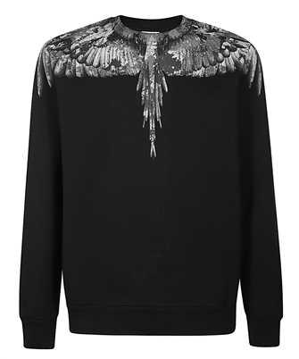 Marcelo Burlon CMBA009E20FLE002 CAMOU WINGS Sweatshirt