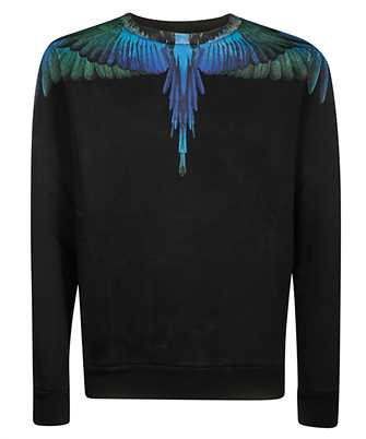 Marcelo Burlon CMBA009F19506006 BLUE WINGS Sweatshirt