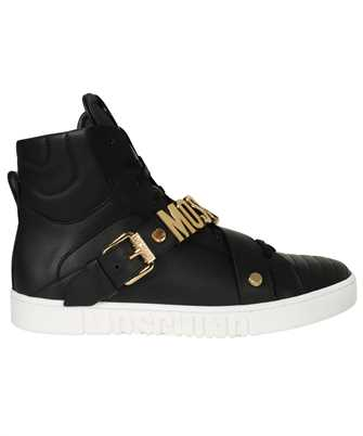 Moschino MB15152G1DGA0 CALFSKIN LOGO LETTERING HIGH Sneakers