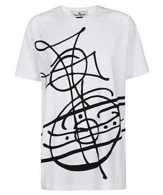 Vivienne Westwood 37010038 21719 GO GRAFFITI T-shirt