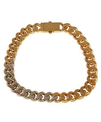 Saint Laurent 635704 Y1500 TWO-TONE CHAIN Necklace