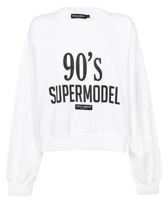 Dolce & Gabbana F9L05T FU7DU 90'S SUPERMODEL Sweatshirt