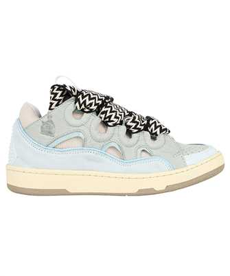 Lanvin FW SKDK02 DRAG A21 LEATHER CURB Sneakers