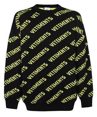 Vetements UA52KN600B MONOGRAM Knit