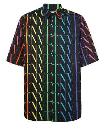 Valentino VV3AAB756G5 VLTN TIMES LOGO PRINT Shirt