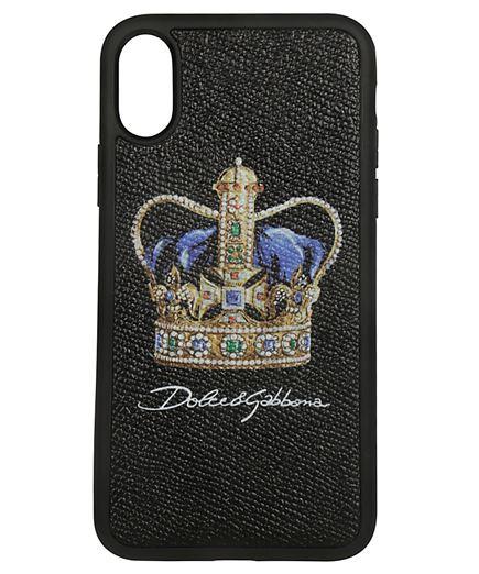 Dolce & Gabbana BP2408 AZ219 black iPhone X cover