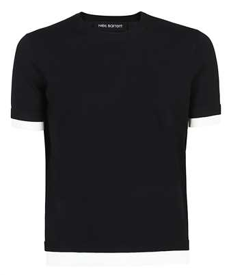 Neil Barrett PBMA1153E Q601 TRAVEL TECNO KNIT T-shirt