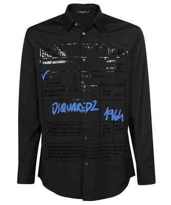 Dsquared2 S74DM0551 S36275 RELAX DAN Shirt