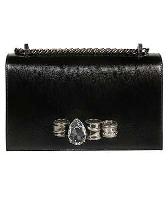 Alexander McQueen 592821 1L30Y MECHANICAL JEWELLED SATCHEL Bag