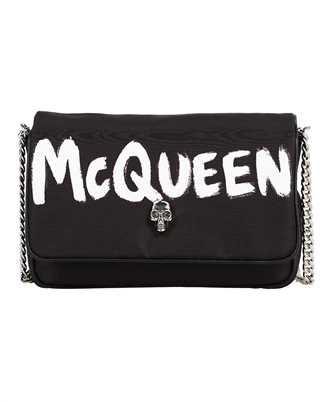 Alexander McQueen 666120 16XAB GRAFFITI NYLON Borsa