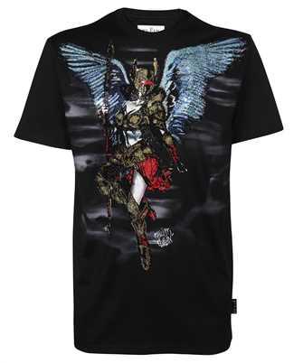 Philipp Plein AAAC UTK0112 PJY002N ROUND NECK SS STONES ANGEL WARRIOR T-shirt