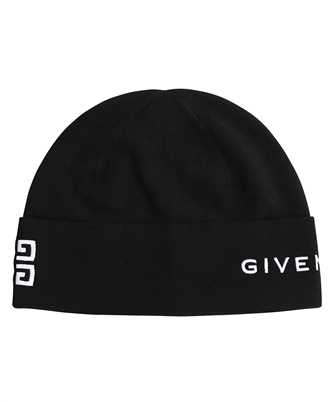 Givenchy BGZ01T G01D 4G GIVENCHY EMBROIDERED WOOL Beanie