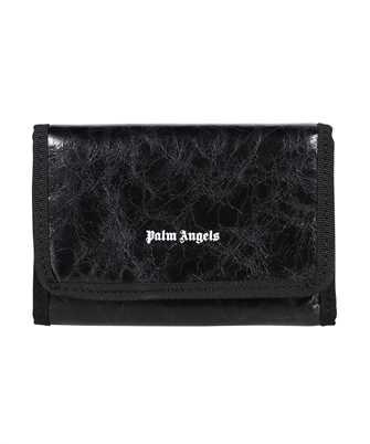 Palm Angels PMNC020F21LEA001 CRINKLE LEATHER Wallet