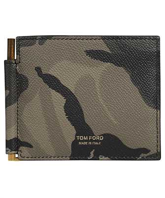 Tom Ford Y0231T ICL022 T LINE MONEY CLIP Wallet