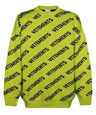 Vetements UA52KN600Y MONOGRAM Knit