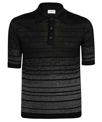 Saint Laurent 604881 YALS2 DEGRADE STRIPED Polo