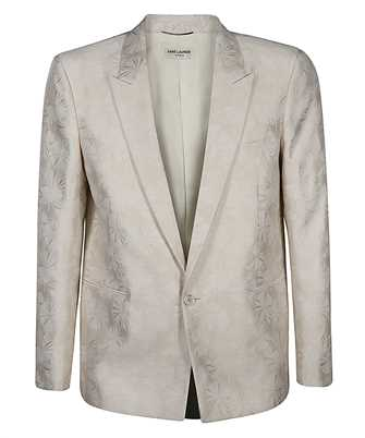 Saint Laurent 644460 Y2C13 WOOL AND SILK PARASOL JACQUARD Jacket