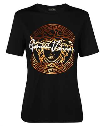 Versace A85759 A228806 MEDUSA SIGNATURE MOTIF T-shirt
