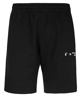 Off-White OMCI006F20FLE001 DIAG OW LOGO Shorts
