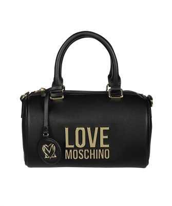 LOVE MOSCHINO JC4193PP1DLJ GOLD METAL LOGO TRUNK Bag