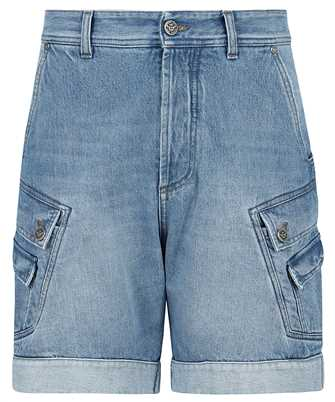 Balmain VH1MA000104D CARGO DENIM Shorts