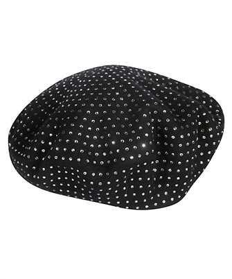 Saint Laurent 580358 3YD12 STUD BERET Hut