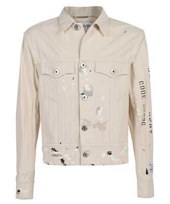 Lanvin RM JA0035 4391 E21 GALLERY DEPT. PAINT MARK DENIM Jacket