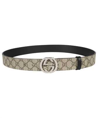 Gucci 473030 KGDHN REVERSIBLE GG SUPREME Belt
