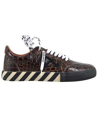 Off-White OMIA085F20LEA001 CROTO PATTERN LOW VULCANIZED Sneakers