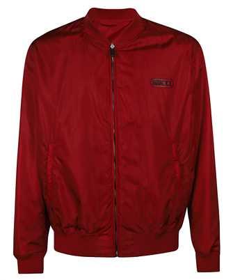 Gucci 521764 Z789C REVERSIBLE GG NYLON BOMBER Jacket