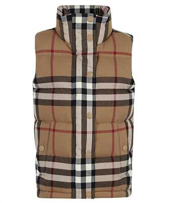 Burberry 8036135 CHECK COTTON FLANNEL PUFFER Gilet