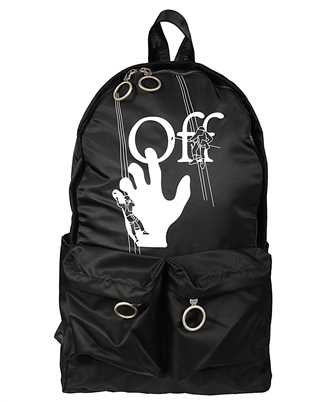 Off-White OMNB003E20FAB002 HAND PAINTERS Backpack