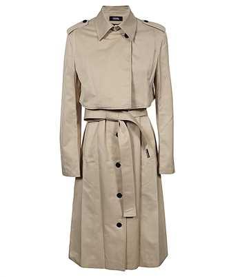 Karl Lagerfeld 211W1500 TRANSFORMER TRENCH Coat
