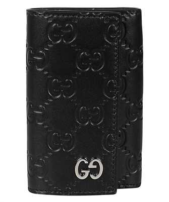 Gucci 473924 CWC1N GG EMBOSSED Key holder
