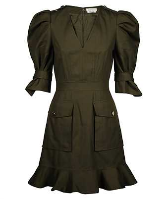 Alexander McQueen 605282 QFAAE MILITARY Dress