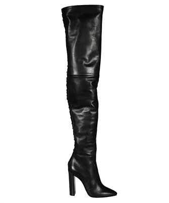 Saint Laurent 632494 1Y801 76 THIGH-HIGH LACED Stivale