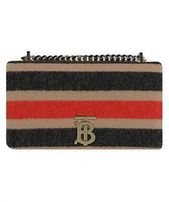 Burberry 8036797 SMALL STRIPED WOOL LOLA Bag