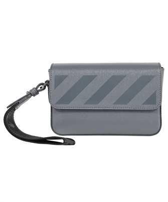 Off-White OMNM012F21LEA001 3D DIAG SAFFIANO CLUTCH Tasche