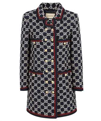 Gucci 577448 ZAAMP GG TWEED Coat